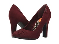 Jams Mulberry Coast High Heels Red