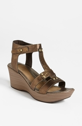 Naot Footwear 'Flirt' Sandal Brass Leather