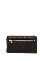 Urban Expressions Parket Stud Quilted Wallet Black