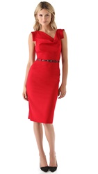 Black Halo Jackie O Dress Red