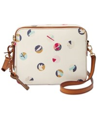 Fossil Sydney Crossbody White Multi