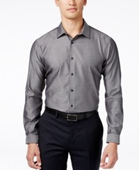 Inc International Concepts Blake Long Sleeve Non Iron Shirt Only At Macy's Charcoal