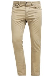 United Colors Of Benetton Straight Leg Jeans Beige