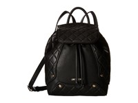 Love Moschino Classic Quilted Backpack Black Backpack Bags