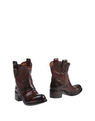Preventi Ankle Boots Maroon