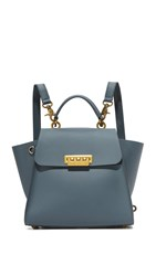 Zac Posen Eartha Convertible Backpack Pewter