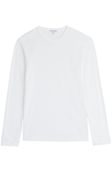 James Perse Cotton Long Sleeve T Shirt