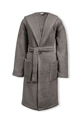 Ralph Lauren Home Player Bath Robe Grey