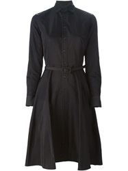 Ralph Lauren Black Label Ralph Lauren Black Belted Shirt Dress
