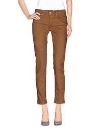 Dondup Denim Denim Trousers Women Khaki