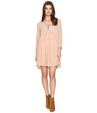 O'neill Junie Dress Tan Nude Women's Dress