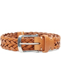 Oliver Spencer Fine Leather Belt Caramel