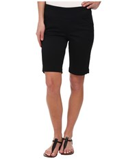 Jag Jeans Ainsley Bermuda Classic Fit Bay Twill Black Women's Shorts