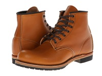 Red Wing Shoes Beckman 6 Round Toe Chestnut Featherstone Men's Lace Up Boots Tan