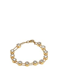 Theodora Warre Topaz And Gold Plated Bracelet