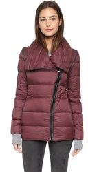 Mackage Qeren Convertible Down Jacket Bordeaux