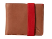 Original Penguin Alberto Bifold Wallet English Tan Wallet Handbags