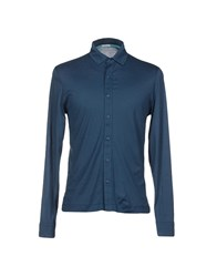 Heritage Shirts Shirts Men Slate Blue