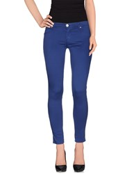 Fifty Four Trousers Casual Trousers Women Blue