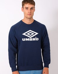 Umbro By Kim Jones Umbro Pro Training Classic Crew Sweatshirt Navy