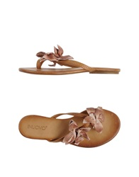 Inuovo Thong Sandals Dove Grey