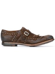 Church's 'Shinghai' Monk Shoes Brown
