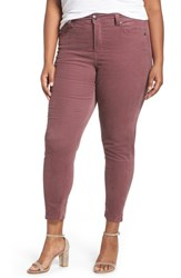 Melissa Mccarthy Seven7 Plus Size Women's Stretch Corduroy Pencil Leg Pants