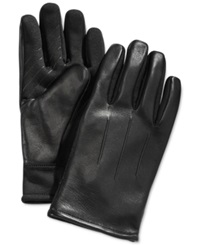Fownes Ur Gloves Three Point Leather Sweater Knit Stretch Tech Palm Gloves
