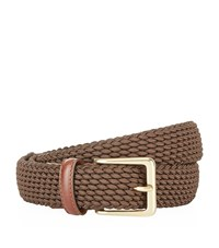 Harrods Of London Woven Elastic Belt Unisex