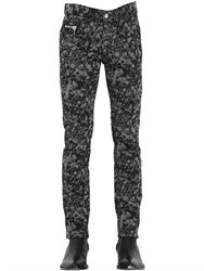Cnc Costume National 16Cm Pollock Printed Stretch Denim Pants