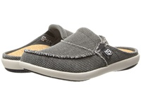 Spenco Siesta Slide Charcoal Grey Women's Clog Shoes Gray