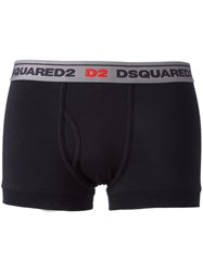 Dsquared2 Logo Boxers Black