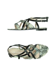 Miezko Thong Sandals Brown