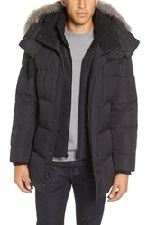 Marc New York Men's Winslow 3 In 1 Parka With Genuine Coyote Fur Trim Hood
