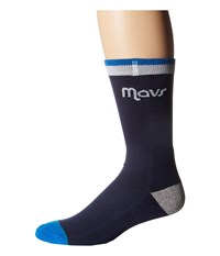 Stance Mavs Arena Logo Black Crew Cut Socks Shoes