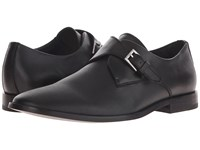 Calvin Klein Norm Black Diamond Men's Slip On Dress Shoes