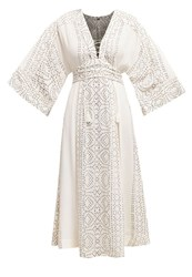 Free People Maxi Dress Pearl Off White