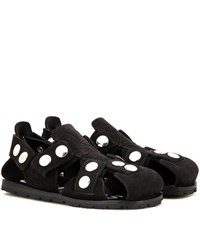 Acne Studios Oline Leather Sandals Black