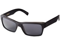 Von Zipper Fulton Polar Black Smoke Satin Grey Poly Polar Sport Sunglasses