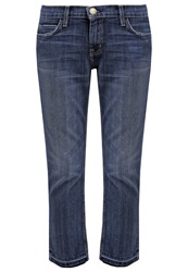 Current Elliott Straight Leg Jeans Blue Blue Denim