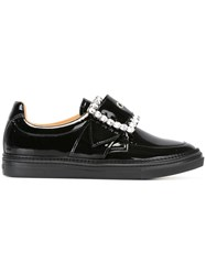 Maison Martin Margiela Buckle Front Sneakers Black