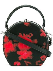 Bertoni 1949 'Bertoncina' Round Cross Body Bag Black