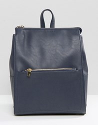 French Connection Backpack Utility Blue Navy