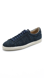Zespa 4 Flecked Canvas Sneakers Bleu Chine