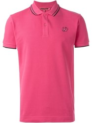 Mcq By Alexander Mcqueen Mcq Alexander Mcqueen 'Swallow' Polo Shirt Pink And Purple