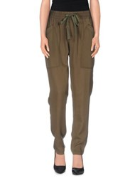 Pepe Jeans Trousers Casual Trousers Women Military Green