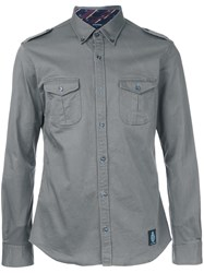 Guild Prime Pocketed Button Down Shirt Green