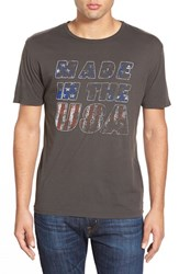 Men's Project Social T 'Made In The Usa' Graphic Crewneck T Shirt