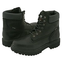 Timberland Direct Attach 6 Steel Toe After Dark Full Grain Leather Men's Work Lace Up Boots Black