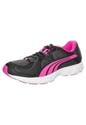 Puma Axis V3 Mesh Cushioned Running Shoes Black Beetroot Purple